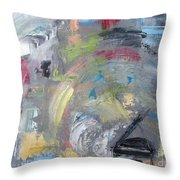 Grande Hoopla Throw Pillow