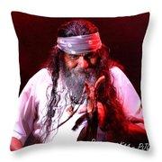 Grandfather Mazatzin Rw2k14 Throw Pillow