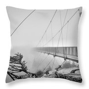 Mile High Bridge #1 Throw Pillow