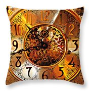 Grandfather Time Hdr Throw Pillow