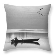 Grandfather Was A Fisherman Throw Pillow