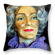 Grandma Predicts Throw Pillow