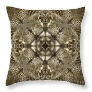 Grandma's Lace Throw Pillow