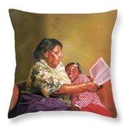 Grandmas Love Throw Pillow by Colin Bootman