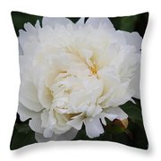 Grandma's Peony Throw Pillow