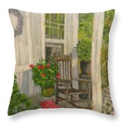 Grandma's Rocker Throw Pillow