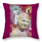 Grandmother Throw Pillow