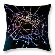 Grandmother Spider's Dream Catcher Throw Pillow