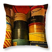 Grandmother's Attic Throw Pillow