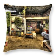 Grandmother's House II Throw Pillow