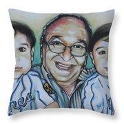 Grandpas Pride And Joy Throw Pillow