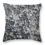 Granite Abstract Throw Pillow