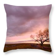 Storm At Dusk 2am-108346 Throw Pillow