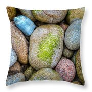 Granite Cobbles Throw Pillow