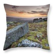 Granite Rocks. Throw Pillow
