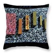 Granites Throw Pillow