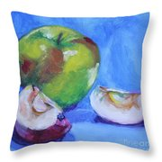 Granny And Friends Throw Pillow