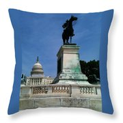 Grant And The Capitol Throw Pillow
