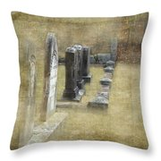 Grant Cemetery Throw Pillow