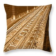 Grant Station Throw Pillow