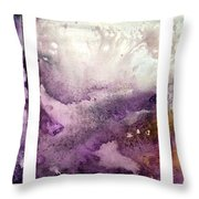 Grape Impressions Original Madart Painting Throw Pillow