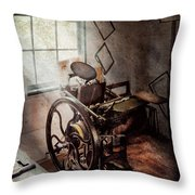 Graphic Artist - The Humble Printing Press Throw Pillow