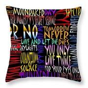Graphic Bond Throw Pillow