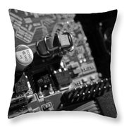 Graphic Card Throw Pillow