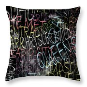 Graphic New York 3b Throw Pillow