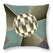 Graphically Throw Pillow