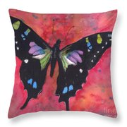 Graphium Weiskei Throw Pillow