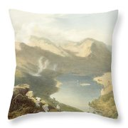 Grasmere From Langdale Fell, From The Throw Pillow