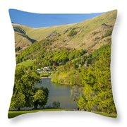 Grasmere Lake Throw Pillow