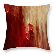 Grasping Throw Pillow by Jack Zulli