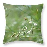 Grass Blade Throw Pillow