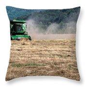 Grass Harvest 16000 Throw Pillow