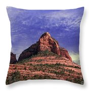 Grasshopper Point Sedona  Throw Pillow