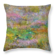 Grasslands Throw Pillow