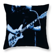 Grateful Blues Throw Pillow
