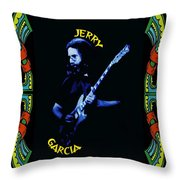 Grateful For Jerry  Throw Pillow