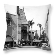 Grauman's Chinese Theater Throw Pillow
