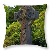 Grave Cross 4 Throw Pillow