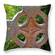 Grave Cross 5 Throw Pillow