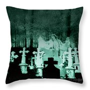 Grave Dancing Throw Pillow