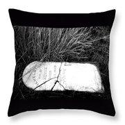 Grave Western Nevada  Throw Pillow