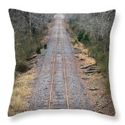 Gravel And Steel Throw Pillow