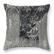 Gravesite Gearheart Oregon Throw Pillow