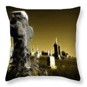 Graveyard 4730 Throw Pillow