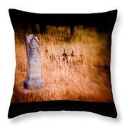 Graveyard 6792 Throw Pillow