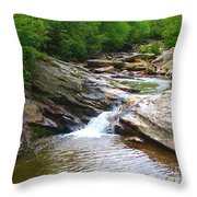 Graveyard Falls Throw Pillow